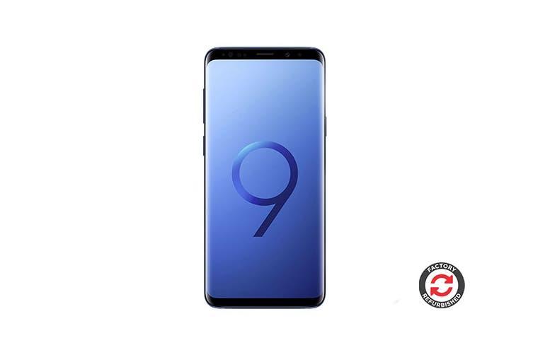 Samsung Galaxy S9 Refurbished (64GB, Coral Blue) - B Grade