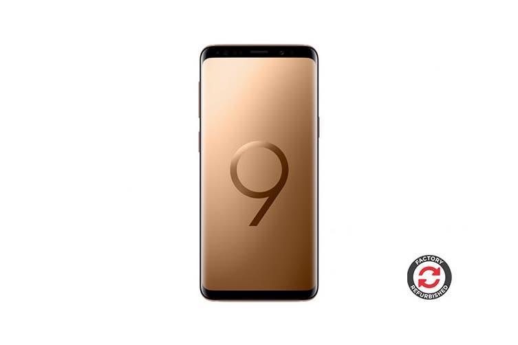 Samsung Galaxy S9 Refurbished (64GB, Sunrise Gold) - AB Grade