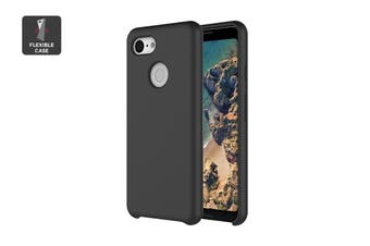 Google Pixel 3 Silicone Case - Just Black