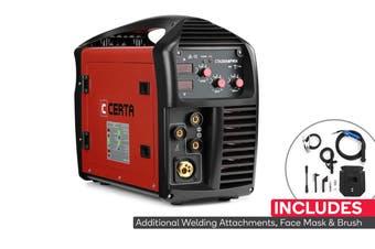Certa 280A MIG/MAG/MMA Gas/Gasless Inverter Welder