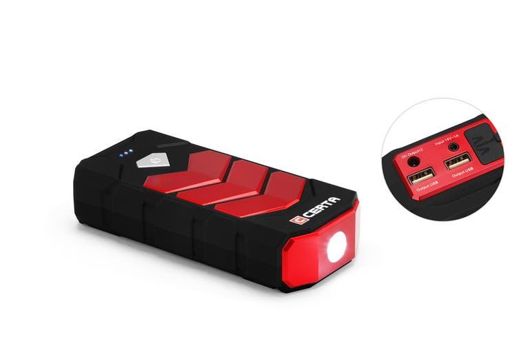Certa 12,000mAh Portable Jump Starter