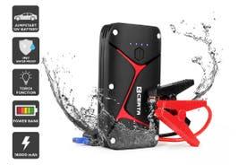 Certa 16,000mAh Water Resistant Portable Jump Starter