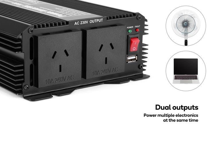 Certa Power Inverter Modified Sine Wave 1000W / 2000W 12V-240V