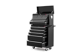 Certa 14 Drawer Storage Cabinet and Trolley Combo