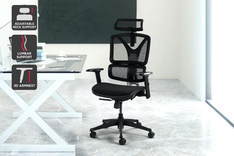Ergolux EX10 Ergonomic Mesh Office Chair