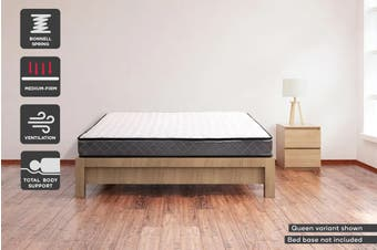 Ergolux 16cm Bonnell Spring Mattress (Double)