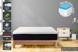 Ergolux Gel Memory Foam & Latex Mattress