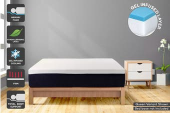 Ergolux Gel Memory Foam & Latex Mattress (Super King)