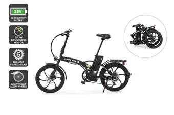 "Fortis 20"" 36V 10Ah Foldable Electric Bike"