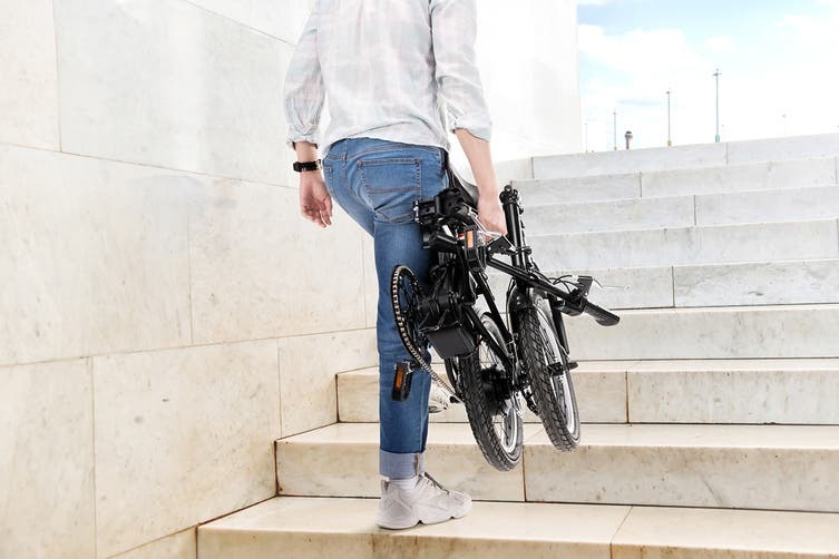 "Fortis 16"" 36V 8Ah Ultra Compact Foldable Electric Bike"