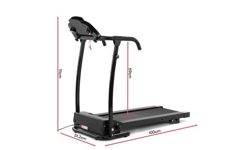 Fortis 360mm Belt Adjustable Incline Electric Treadmill