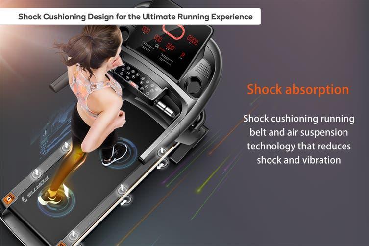 Fortis 520mm Belt Auto Incline Luxury Treadmill