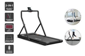 Fortis T3 Ultra Slim Foldable 2-in-1 Walking & Running Smart Treadmill