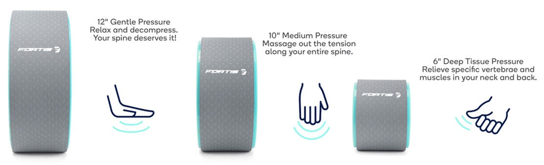 Personalised Massage Pressure with Different Sizes