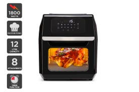 Kogan 12L 1800W Digital Air Fryer Oven (Black)