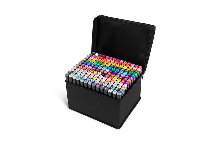 168-Piece Colour Marker Set (Black)