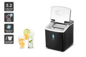 Kogan 3.2L Ice Cube Maker (Black)