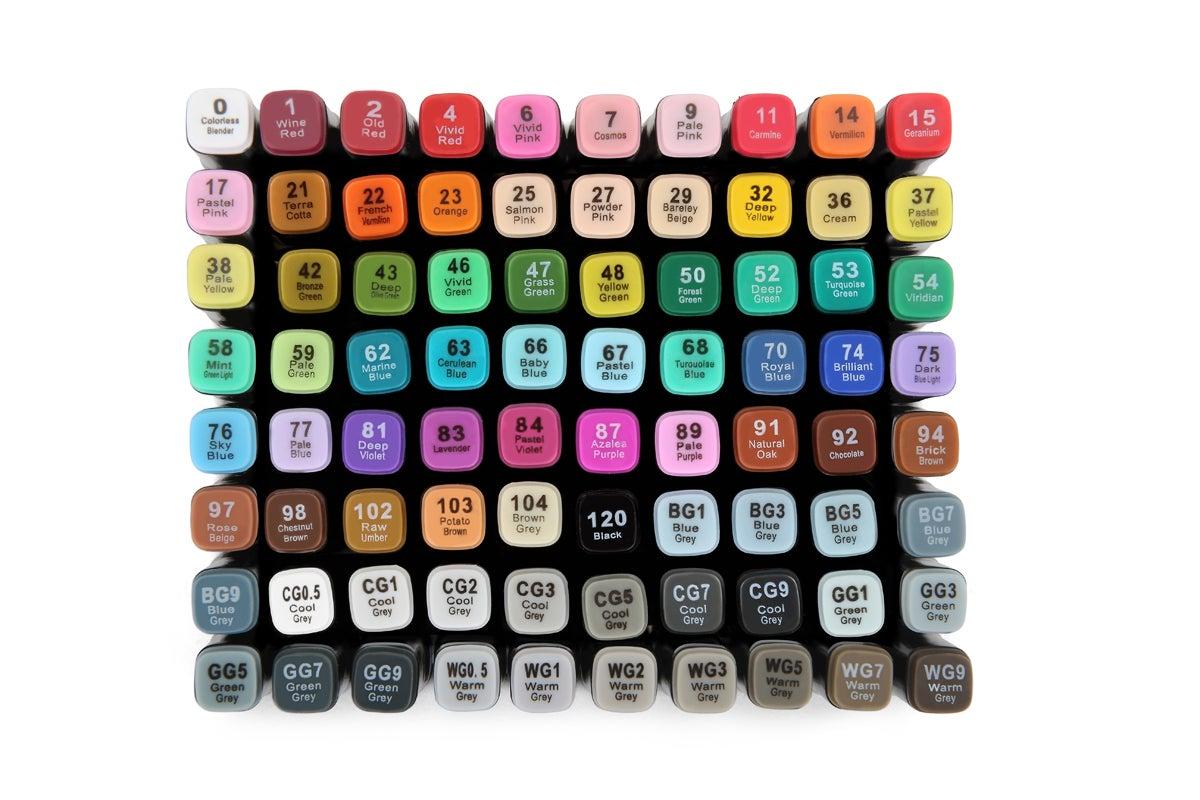 Kogan 80-Piece Colour Marker Set
