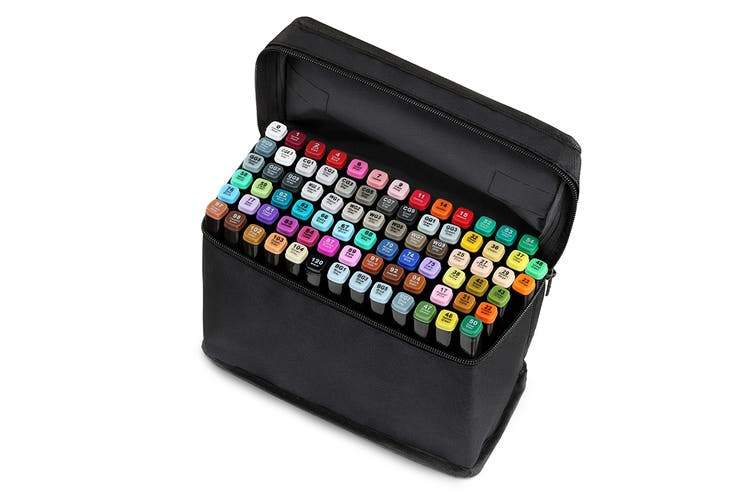 80-Piece Colour Marker Set (Black)