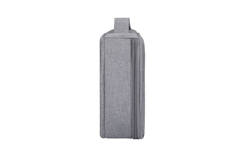 Cable and Accessory Pouch (Extra Large, Grey)