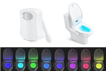 Motion Sensor Toilet LED Night Light