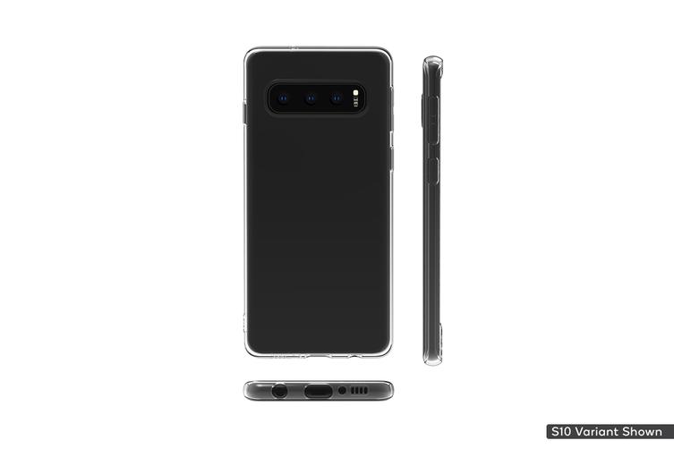 Samsung Galaxy S10 Plus Thin Case (Clear)
