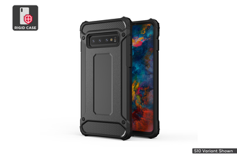 Samsung Galaxy S10 Plus Shockproof Case (Black)