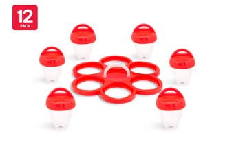 Kogan 12 Pack Egglettes with Bonus Egg Holder