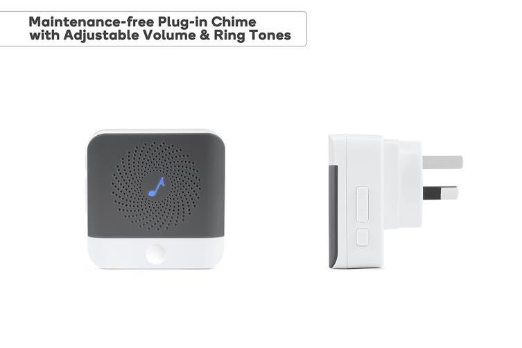 Kogan SmarterHome™ Full HD Slim Wireless Smart Video Doorbell with Chime