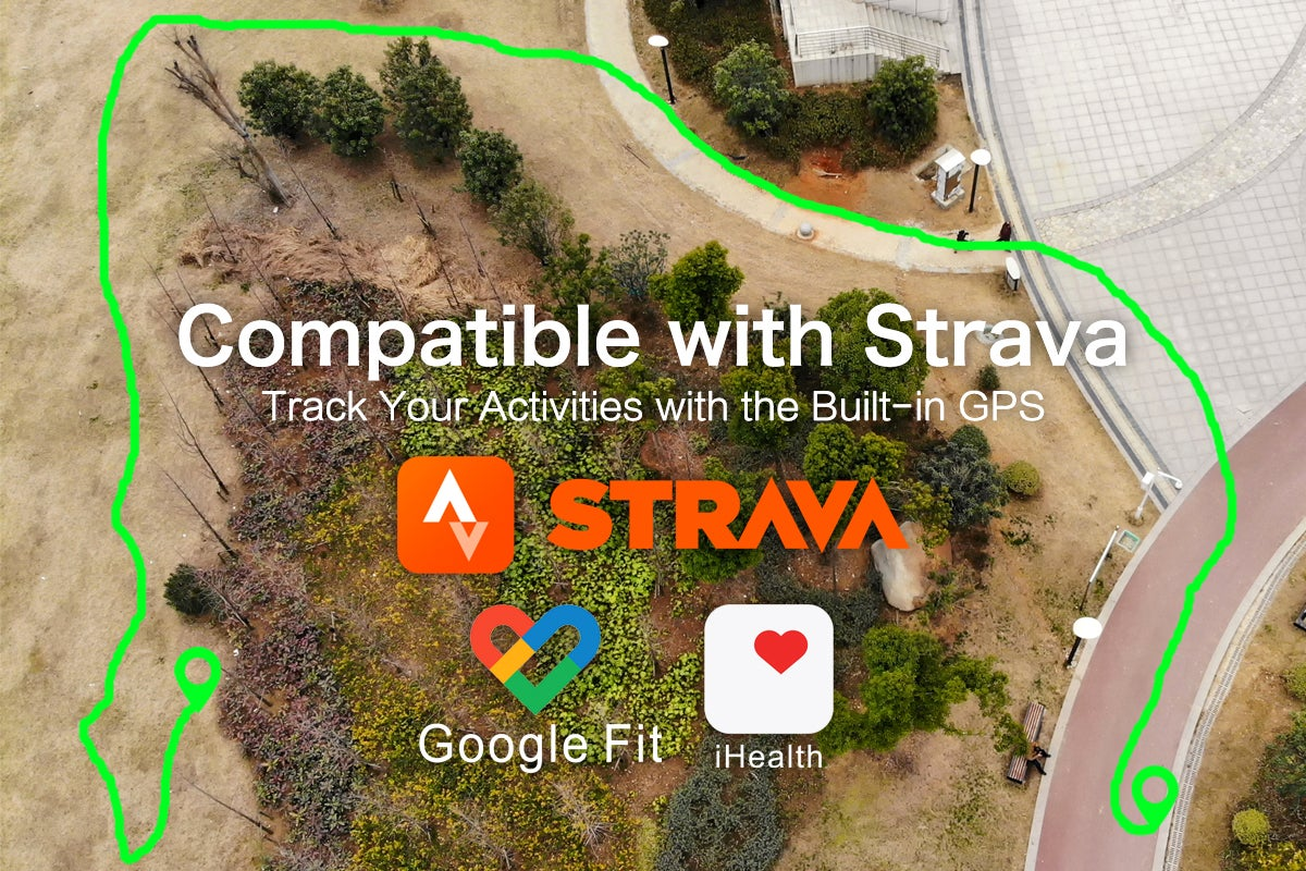 Compatible with Strava