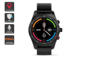 Kogan IP68 Multisport GPS Smartwatch (Black Edition)