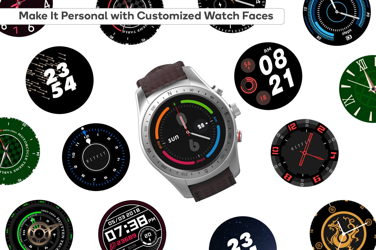 Make It Personal with Customised Watch Faces