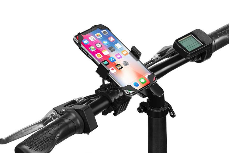 Handlebar Mounted Adjustable Silicone Phone Holder