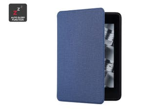 Smart Magnetic Case for Amazon Kindle Paperwhite (Navy)