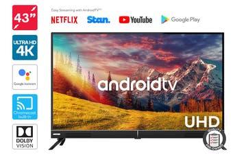 "Kogan 43"" Smart HDR 4K UHD LED TV Android TV™ (Signature Series, XT9310) Preowned"