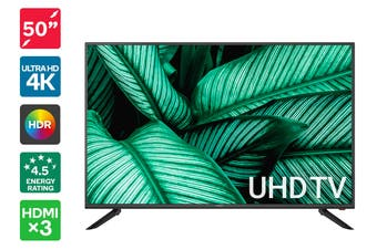 "Kogan 50"" 4K UHD HDR LED TV (Series 8 JU8200)"