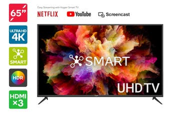 "Kogan 65"" Smart HDR 4K UHD LED TV (Series 8, NU8010)"