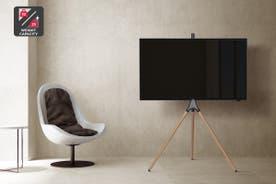 """Kogan Larvik Studio Stand for 45""""-65"""" TVs (Natural Oak)"""