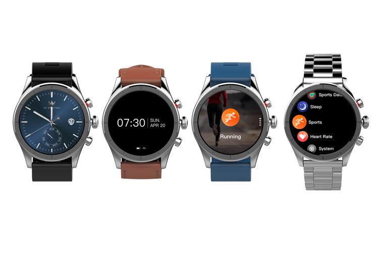 Silicon Strap for Kogan M1 Smart Watch (Black)