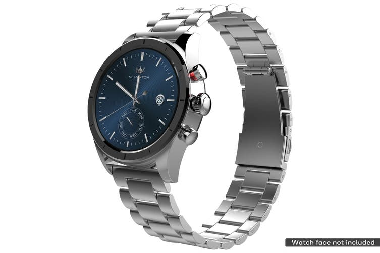 Stainless Steel Strap for Kogan M1 Smart Watch (Silver)