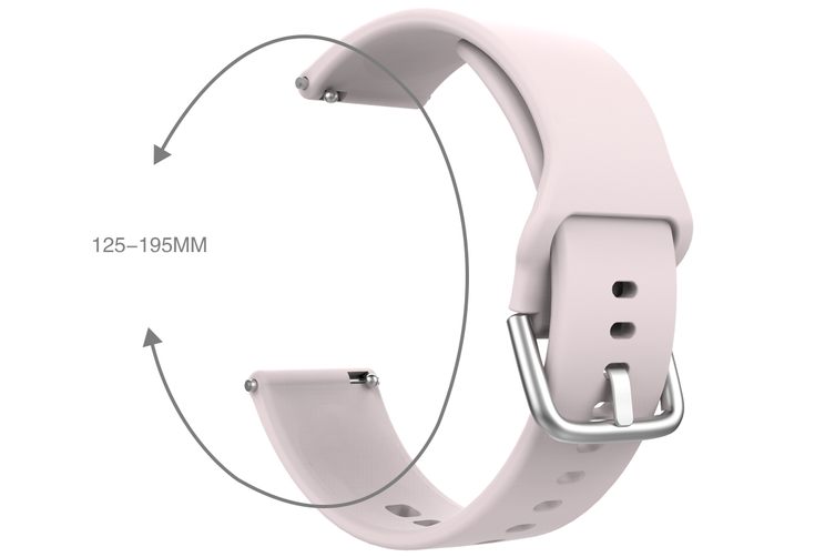 Silicon Strap for Kogan M2 Smart Watch (Pink)