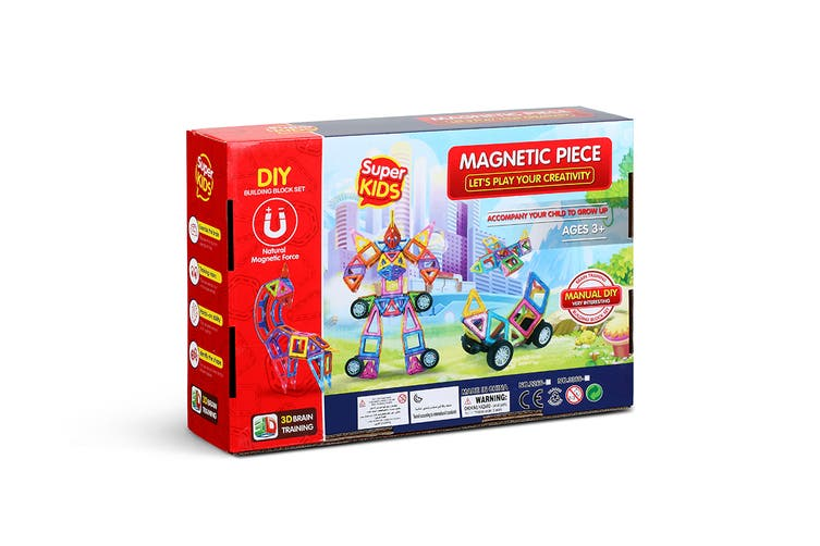 70 Piece Magnetic Block Set