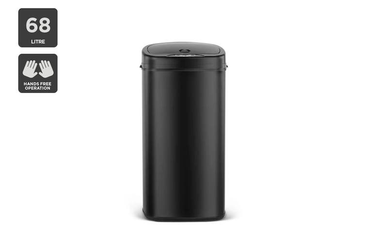 Kogan 68L Motion Sensor Bin (Black)