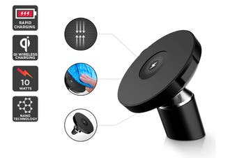 Kogan Nano Grip Car Qi Phone Charger