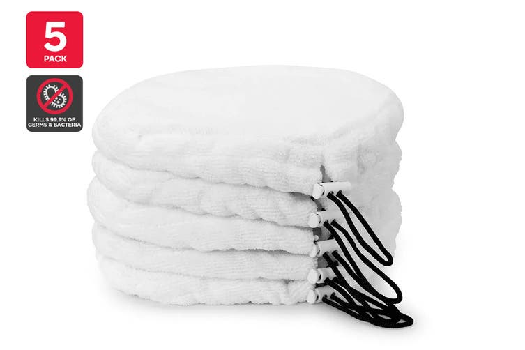 Kogan 9-in-1 Steam Mop Replacement Pads (5 Pack)