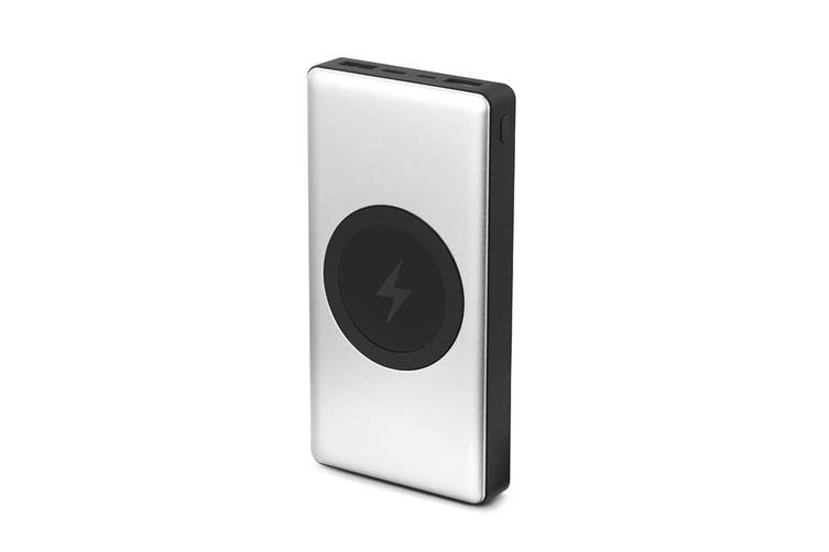 Kogan 10000mAh Qi Wireless Power Bank with PD (Space Grey)