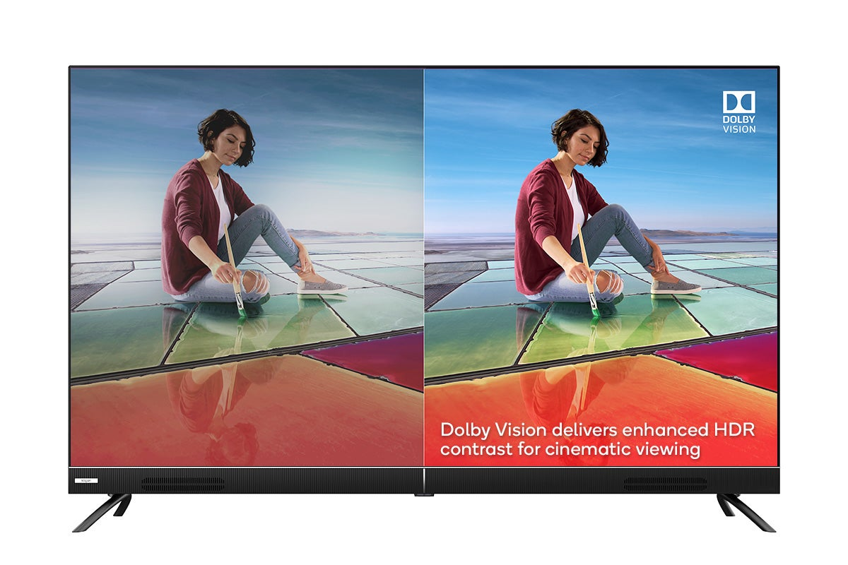 Dolby Vision(tm) and Dolby Audio(tm)