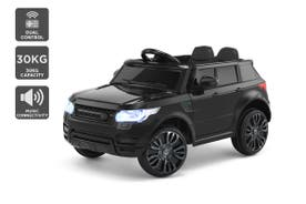 Kids Range Rover-Inspired Ride-On Car (Black)