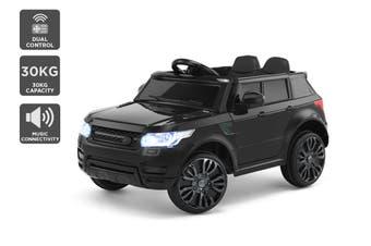 Kids Range Rover-Inspired Ride-On Car (Black)