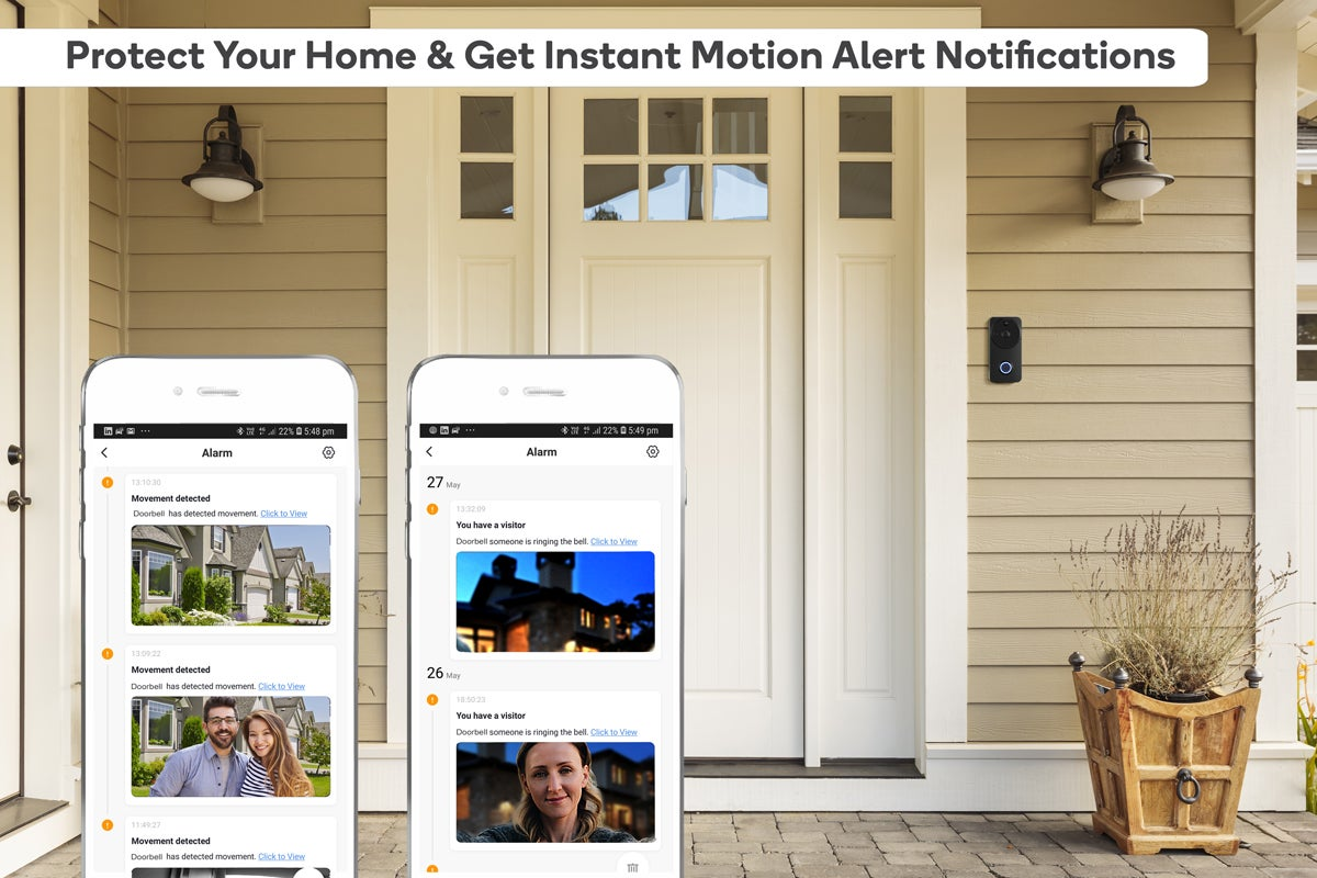 Protect your home & get instant motion alert notifications